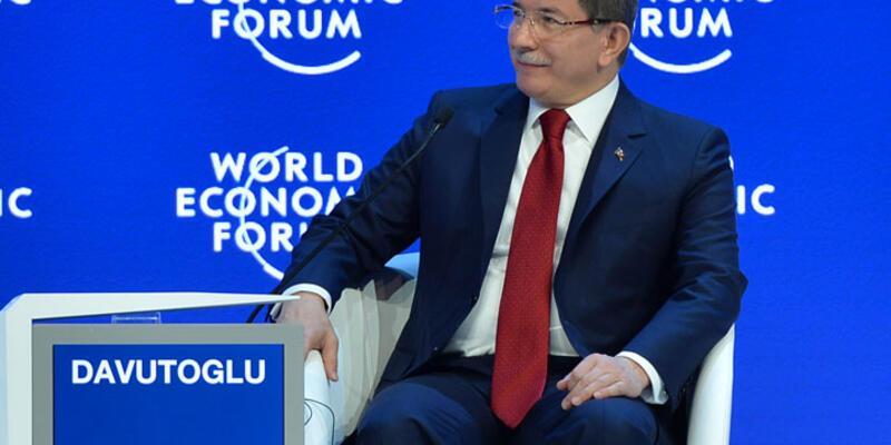 """Davutoğlu:""""Geçen gün hasbelkader bir Rus televizyonunu izliyordum..."""""""