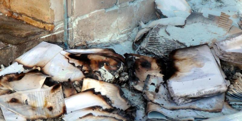 Mardin Büyükşehir Belediyesi arşivinde yangın