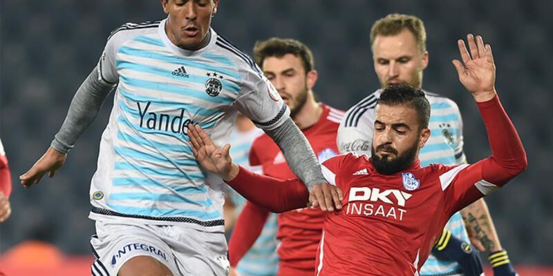 Fenerbahçe Tuzlaspor'u tek golle geçti