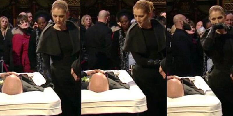Celine Dion, kocasıyla böyle vedalaştı