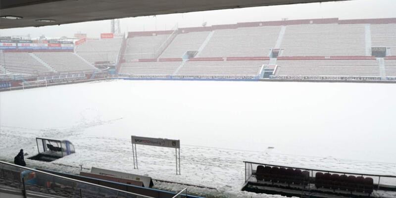 Trabzonspor-Beşiktaş maçı ertelendi