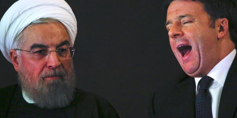 """İran Cumhurbaşkanı Ruhani'den """"çıplak heykel"""" açıklaması"""