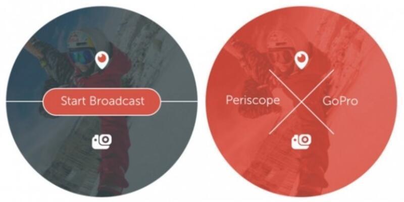 GoPro görüntüsünü canlı yayına yansıtabilecek!