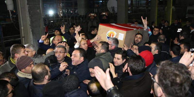 Suriye'de ölen MHP'linin cenazesi İstanbul'da