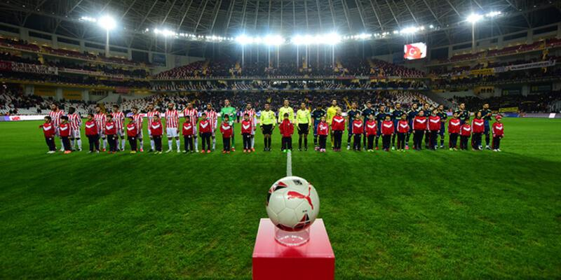 Antalyaspor'la Fenerbahçe golsüz berabere kaldı