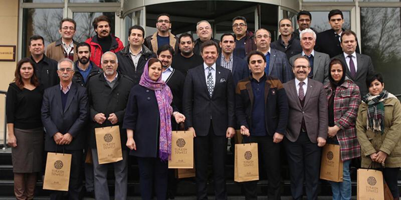 Ambargo kalktı İranlılar Denizli'ye geldi