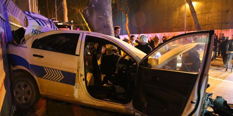 Sinan Çetin'in oğlu polis aracına çarptı: 1 şehit