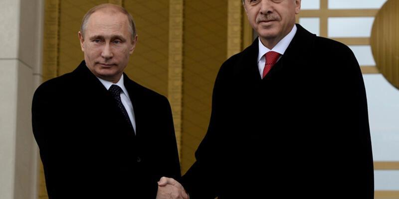 Erdoğan'ın görüşme isteği Putin'e iletildi