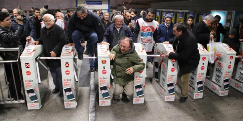 ÖDP'den ulaşım zammı protestosu