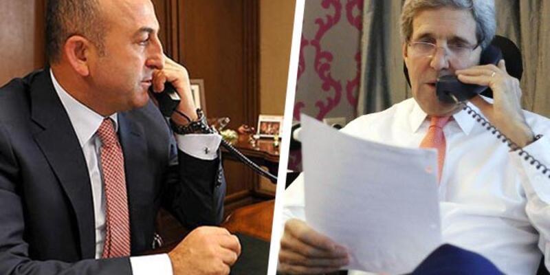 Mevlüt Çavuşoğlu, John Kerry ile Cenevre'yi konuştu