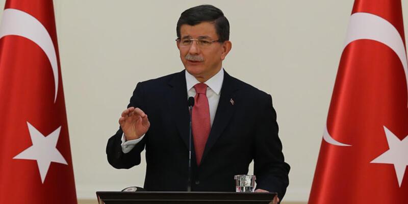 """Başbakan Davutoğlu'ndan Demirtaş'a """"Franco"""" yanıtı"""