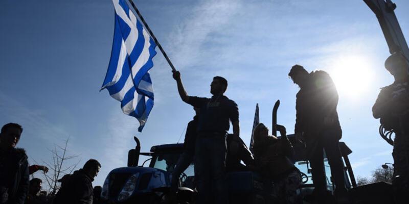 Yunanistan'da grevler ve çiftçi eylemleri devam ediyor
