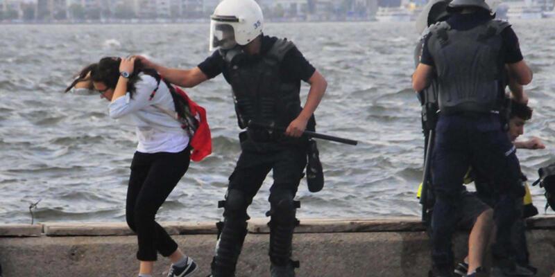 Saç çekip copla vuran polislere ceza yok