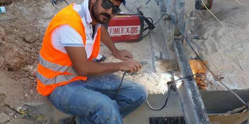 İnşaat işçisi 6'ncı kattan düşerek öldü