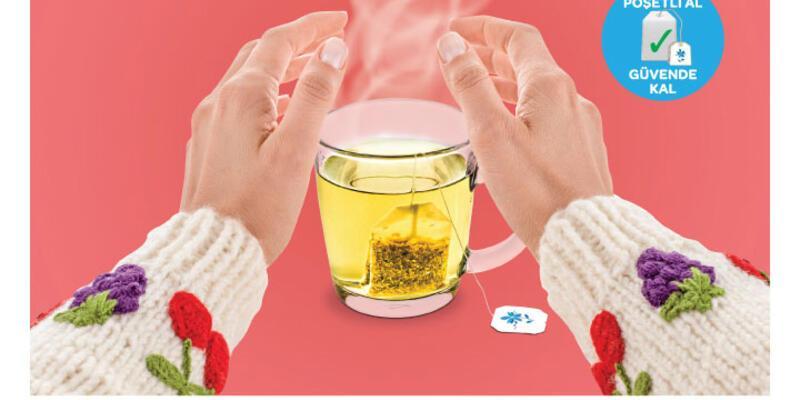 """Büyük çay markalarından """"poşet"""" kampanyası"""