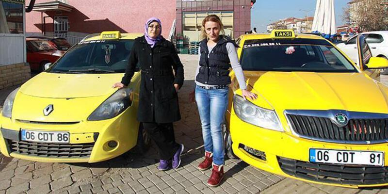 Kadın müşteriye kadın şoför