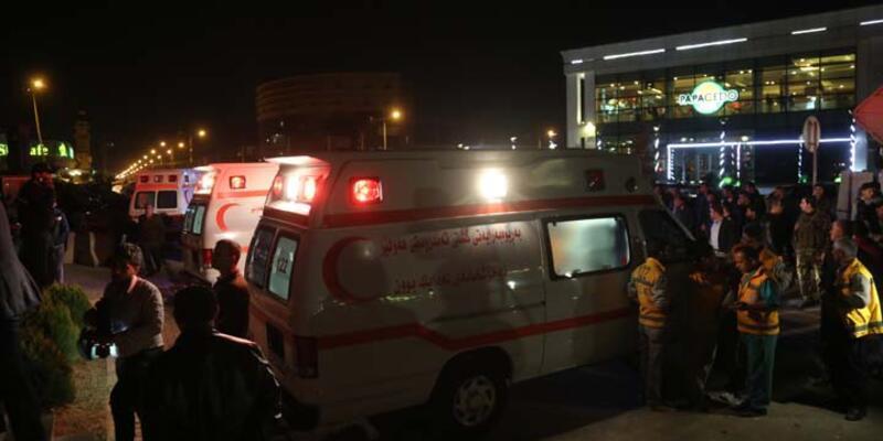 Erbil'de yangın: 19 ölü