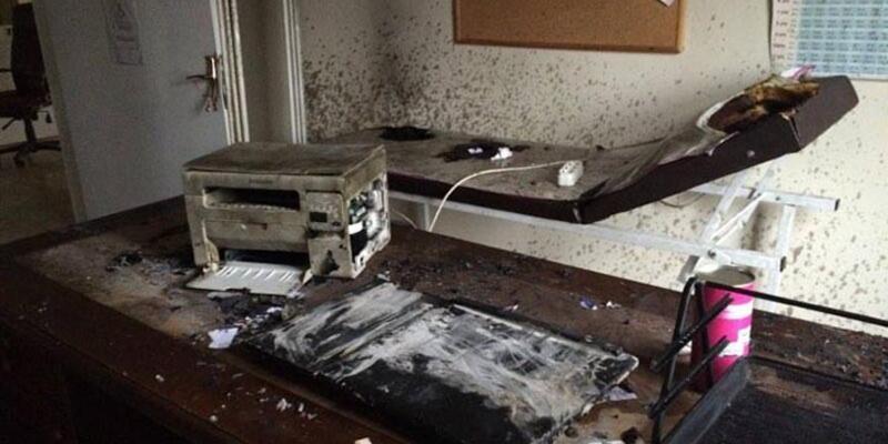 Diyarbakır'da sağlık merkezine saldırı