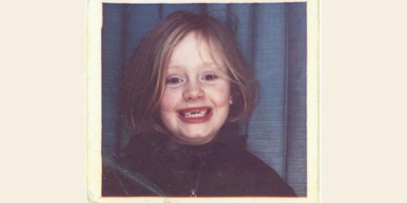 Adele yeni single'ının kapağına çocukluk fotoğrafını koyacak