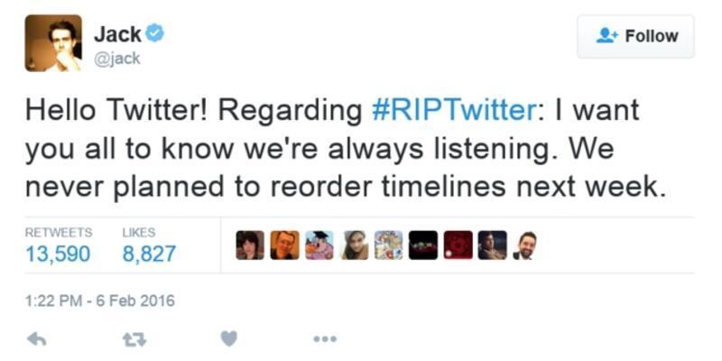 Twitter arayüzünü değiştireceği iddialarını reddetti!