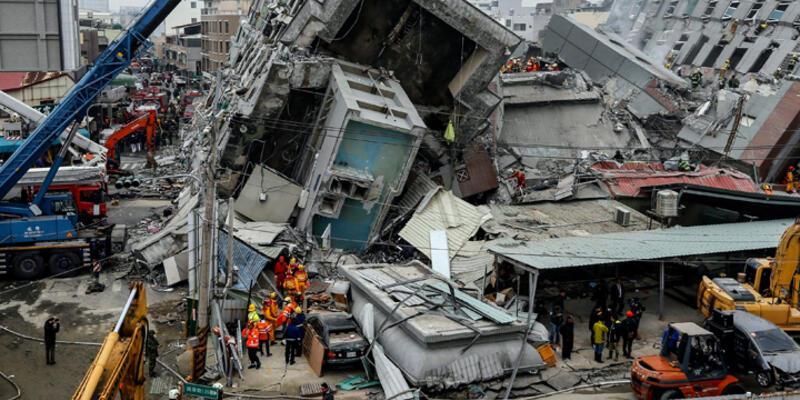 Tayvan'da ölü sayısı 36'ya yükseldi