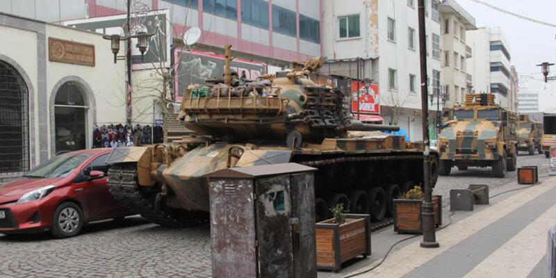 Sur'da caddenin bir bölümünde sokağa çıkma yasağı ilan edildi