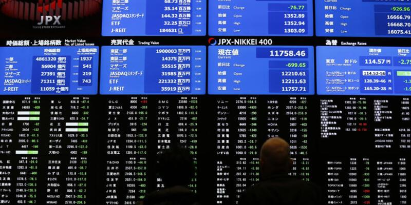 Japon borsası sert düştü