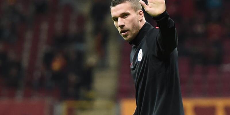 Galatasaray'a Lukas Podolski'den kötü haber