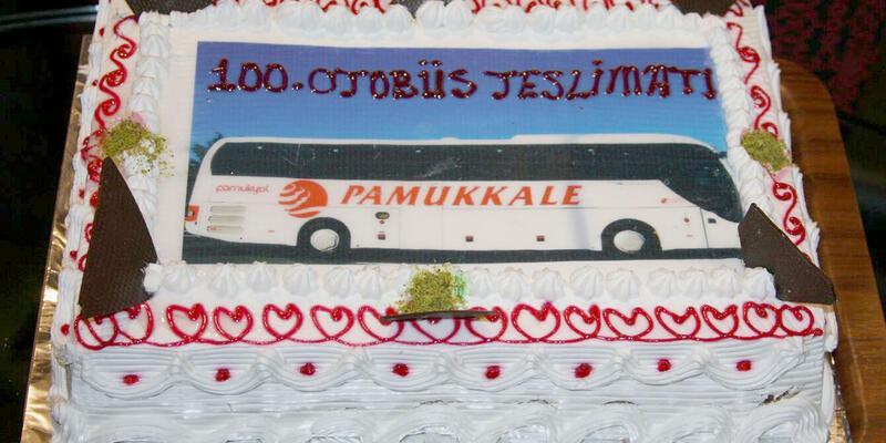 Pamukkale Turizm 1 yılda 100 otobüs aldı