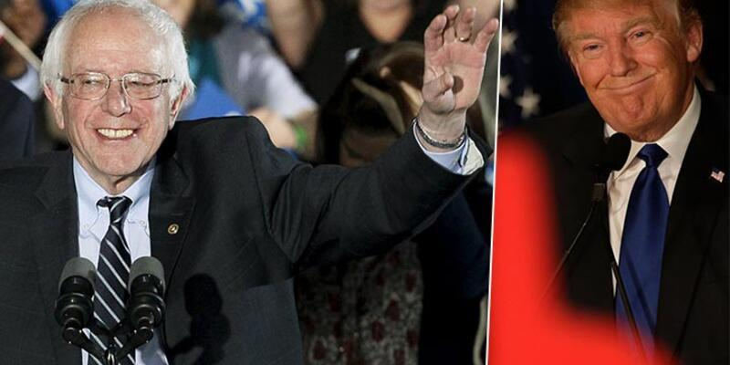 New Hampshire'ın galipleri Sanders ve Trump oldu