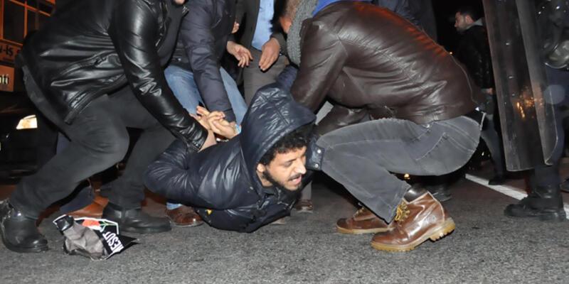 Ankara katliamı anmasına polis müdahalesi