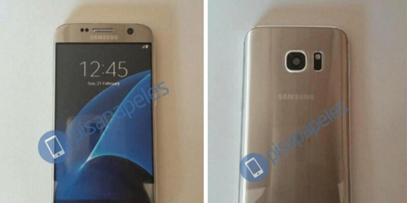 Galaxy S7 Gold sizlerle