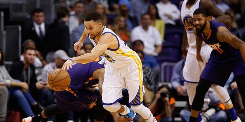 Warriors ve Spurs ezip geçiyor