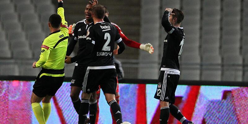 Beşiktaş cezanın iptali için TFF'ye başvurdu