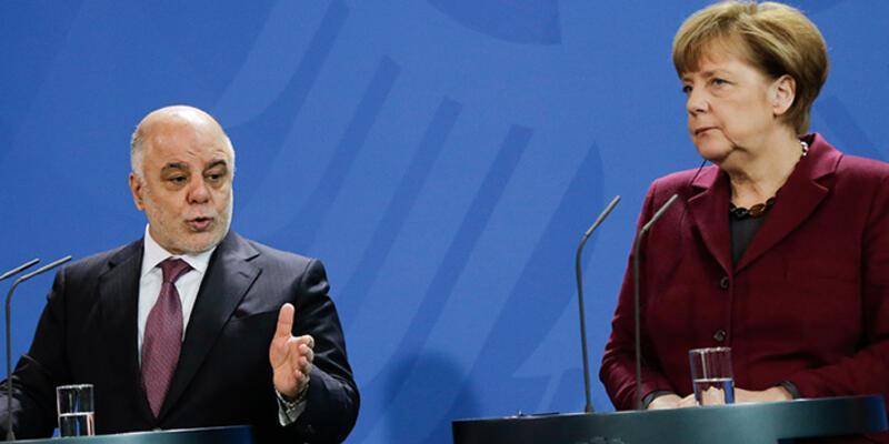 """Merkel: """"Irak'ın toprak bütünlüğünden yanayız"""""""