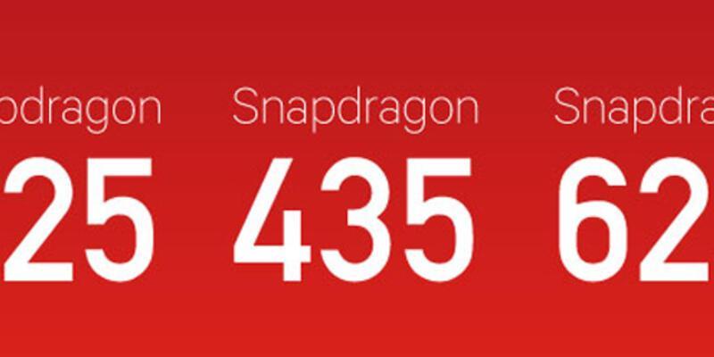 Snapdragon 625, 435 ve 425 yongaları duyuruldu