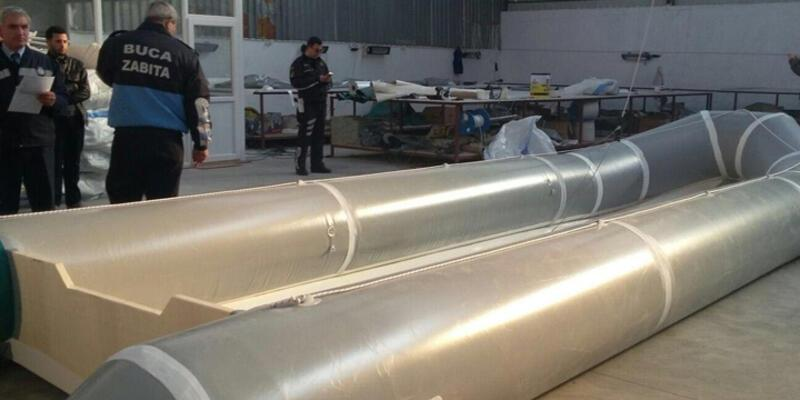 Sığınmacılar için üretilen standart dışı 29 bot ele geçirildi