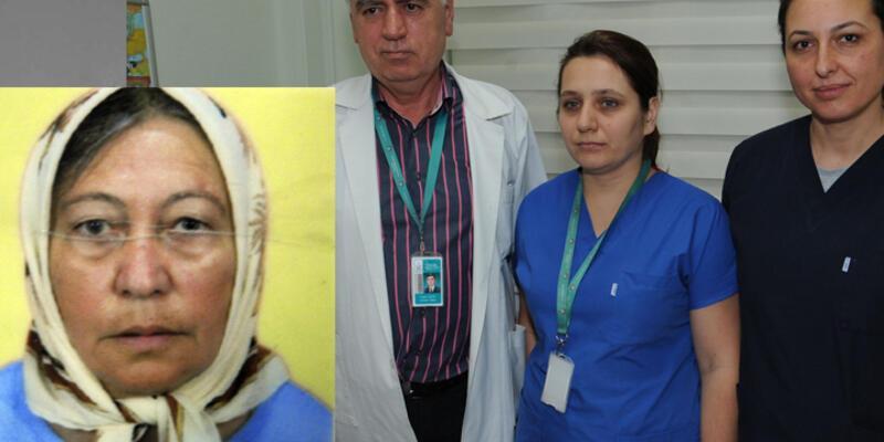Yaşlı kadın organlarıyla 3 kişiye umut oldu