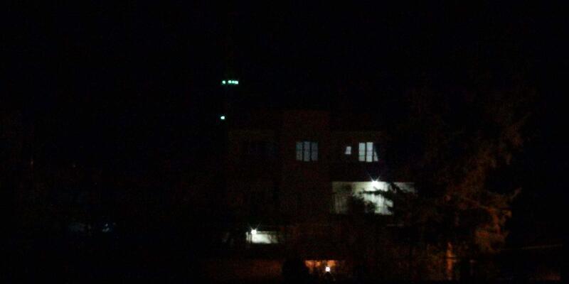 Nusaybin'de sabaha kadar patlama sesleri duyuldu