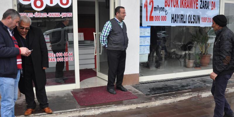Sivas Zara'da 12 milyon lira heyecanı