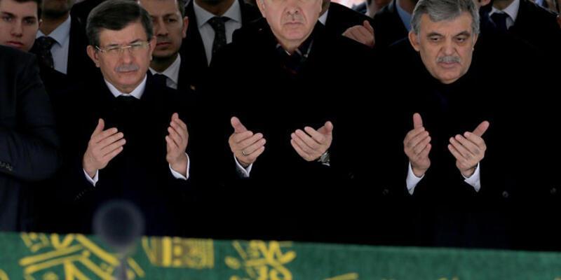 Abdullah Gül'ü acı gününde devletin zirvesi yalnız bırakmadı