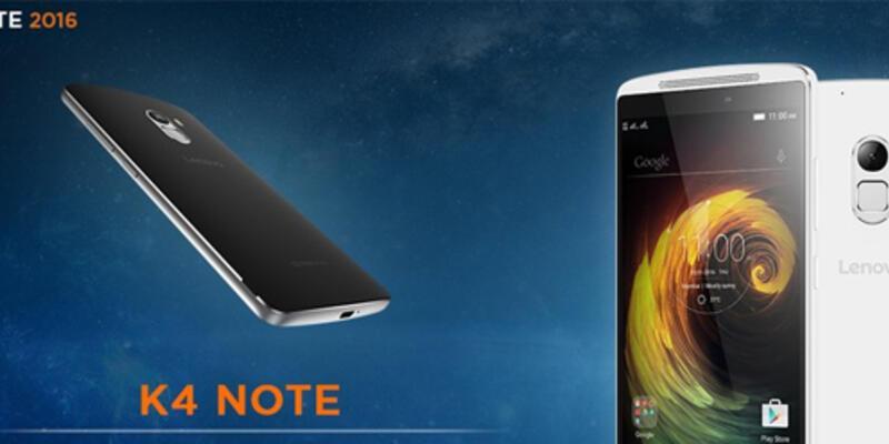 Lenovo K4 Note satışa çıkıyor!