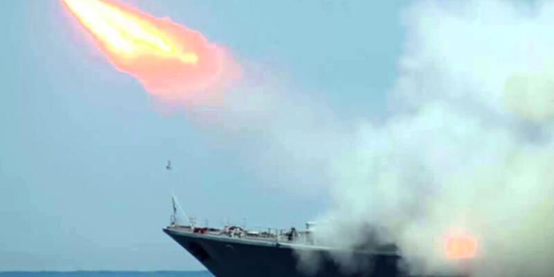 Rusya Azez'i balistik füzelerle vurdu
