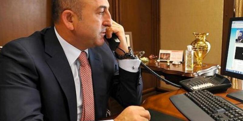 Mevlüt Çavuşoğlu'ndan Fransız bakana tebrik ve tepki telefonu
