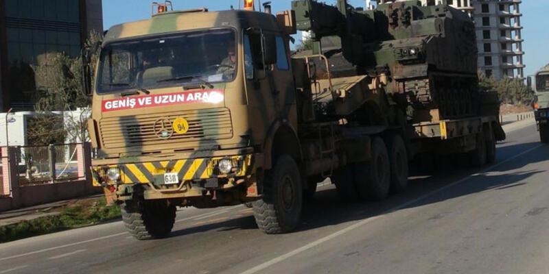 Sınırda YPG'yi vuran obüslerin yeri değiştirildi