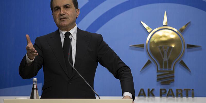 AK Parti Sözcüsü Çelik'ten Ankara açıklaması