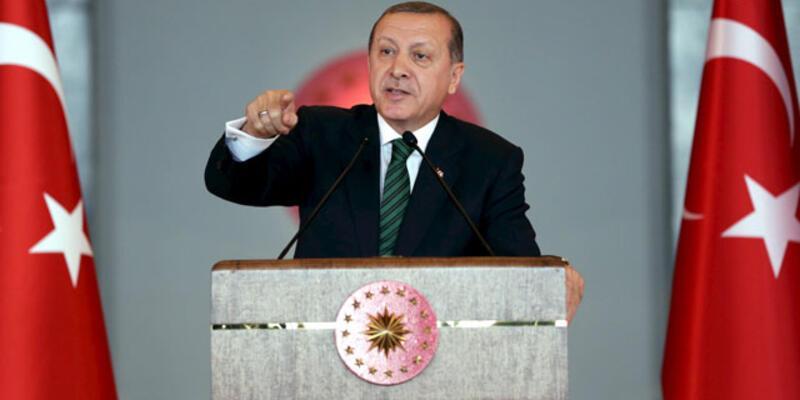Cumhurbaşkanı Erdoğan: ''Ya baş eğeceksin ya baş vereceksin''