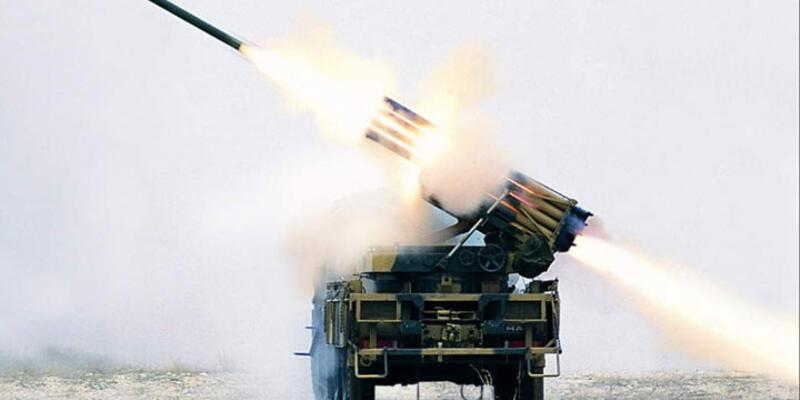 PYD Kırıkhan'dan atılan füzelerle vuruldu