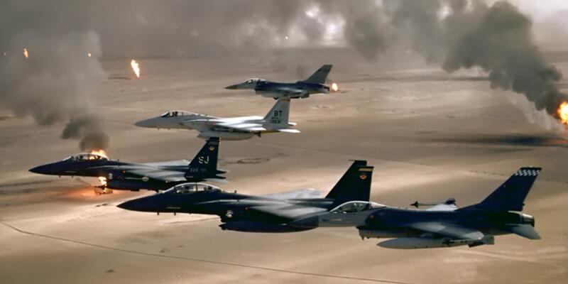 ABD Libya'da IŞİD'i havadan vurdu: 41 ölü, 6 yaralı