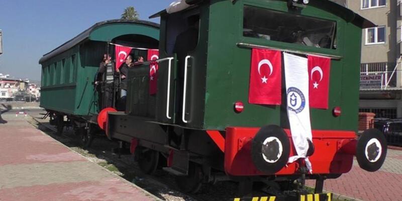 """Nazilli'nin tarihi """"Gıdı Gıdı Treni"""" yeniden hizmete girdi"""